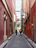 Alleyway, Chinatown, Melbourne, Victoria, Australia Photographic Print by David Wall