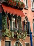 Villa Balcony, Venice, Italy Photographic Print by Lisa S. Engelbrecht