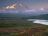 Charles Sleicher - Denali National Park near Wonder lake, Alaska, USA Fotografická reprodukce