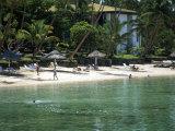 The Warwick Fiji Resort, Coral Coast, Fiji Photographic Print by David Wall