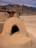 Oven in Taos Pueblo, Rio Grande Valley, New Mexico, USA Photographic Print by Art Wolfe