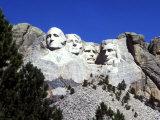 Mt Rushmore Presidents, South Dakota, USA Photographic Print by Bill Bachmann