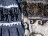 Hand Knit Gloves with Llamas at the Pisac Market, Ruins at Pisac, Peru Photographic Print by Cindy Miller Hopkins