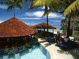 Pool, Warwick Fiji Resort, Coral Coast, Fiji Photographic Print by David Wall