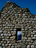 Ancient Stone Wall with Window, Machu Picchu, Peru Photographic Print by Cindy Miller Hopkins