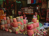 Market Scene, Oaxaca, Mexico Photographic Print by Charles Sleicher