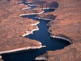 Lake Powell, Glen Canyon NRA, Utah, USA Fotografie-Druck von Art Wolfe