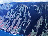 Na Pali Coast, Kauai, Hawaii, USA Photographic Print by Charles Sleicher
