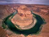 Colorado River, Horseshoe Bend, Glen Canyon NRA, Utah, USA Photographic Print by Art Wolfe