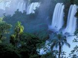 Iguacu National Park, Parana State, Iguacu Falls, Brazil Photographic Print by Art Wolfe