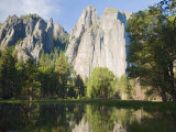 Cathedral Rocks. Yosemite National Park, CA Photographic Print by Jamie & Judy Wild