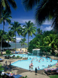 Swimming Pool, Naviti Resort, Coral Coast, Fiji, South Pacific Photographic Print by David Wall