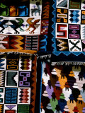 Traditional Wool Textile Blankets for Sale, Pisac Market, Peru Photographic Print by Cindy Miller Hopkins