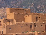 Adobe Detail, Taos Pueblo, Rio Grande Valley, New Mexico, USA Photographic Print by Art Wolfe