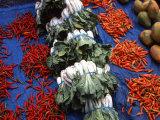 Market Produce, Sigatoka, Fiji Photographic Print by David Wall