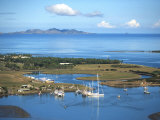 Denarau Marina, near Nadi, Fiji Photographic Print by David Wall