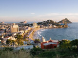 View from Ice Box Hill of Olas Altas Beach, Mazatlan, Mexico Photographic Print by Charles Sleicher