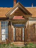 entry of James Stuart Cain residence. Bodie State Historic Park, CA Photographic Print by Jamie &amp; Judy Wild