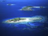 Eori Island, Mamanuca Islands, Fiji Photographic Print by David Wall