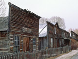 Ghost Town of Nevada City, Montana, USA Photographic Print by Charles Sleicher