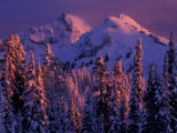 Unicorn Peak, Mt. Rainier National Park, Washington, USA Photographic Print by Art Wolfe