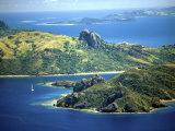 Kuata and Wayasewa Islands, Yasawa Group, Fiji Photographic Print by David Wall
