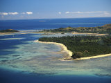 Malolo Lailai Island, Mamanuca Islands, Fiji Photographic Print by David Wall