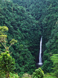 Waterfall near Poas Volcano, Poas Volcano National Park, Costa Rica Photographic Print by Charles Sleicher