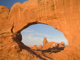 Turret Arch through North Window, Arches National Park, Utah, USA Photographic Print by Jamie & Judy Wild