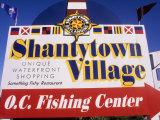 Shantytown Village, Ocean City, Maryland, USA Photographic Print by Bill Bachmann