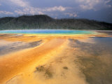Grand Prismatic Geyser, Yellowstone National Park, Wyoming, USA Photographic Print by Art Wolfe