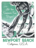 Newport Beach, California Giclee Print
