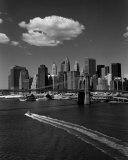 White Cloud over Brooklyn Bridge Art by Henri Silberman