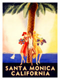 Santa Monica, California Giclee Print