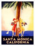 Santa Monica, California Giclee Print