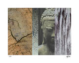 Buddha in My Garden I Giclee Print by Mj Lew
