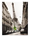 Big Jump in Paris Poster von T. Krusselmann