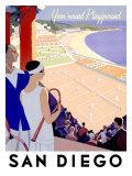 Year Round Playground, San Diego Giclee Print