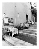 Tables on the Steps, Taormina Posters by Monte Nagler