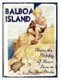 Balboa Island Giclee Print