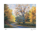 Autumn Road Giclee Print by Gregory Wilhelmi