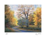 Strada in autunno Edizione limitata di Gregory Wilhelmi