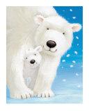 Fluffy Bears I Poster von Alison Edgson