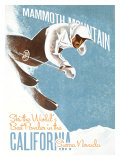 Mammoth Mountain: Ski the World Giclee Print