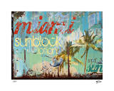Miami Sunblock Giclee Print by Mj Lew