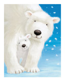 Fluffy Bears I Prints by Alison Edgson