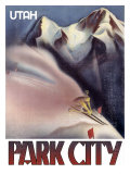 Park City, Utah: Ski Giclee Print