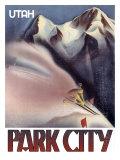 Park City, Utah: Ski Giclee Print