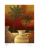 Sunset Palms II Limited Edition by Georgia Rene