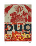Pug Giclee Print by Mj Lew